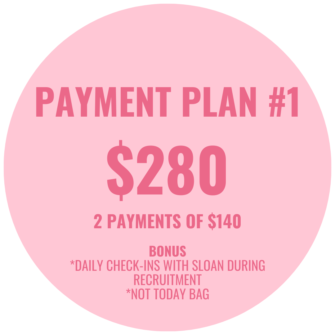 Payment plan #1