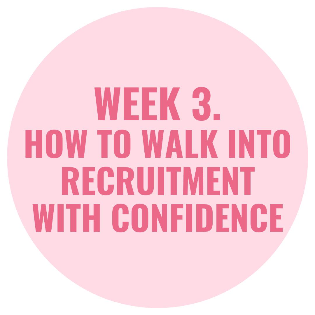 week 3 of rr