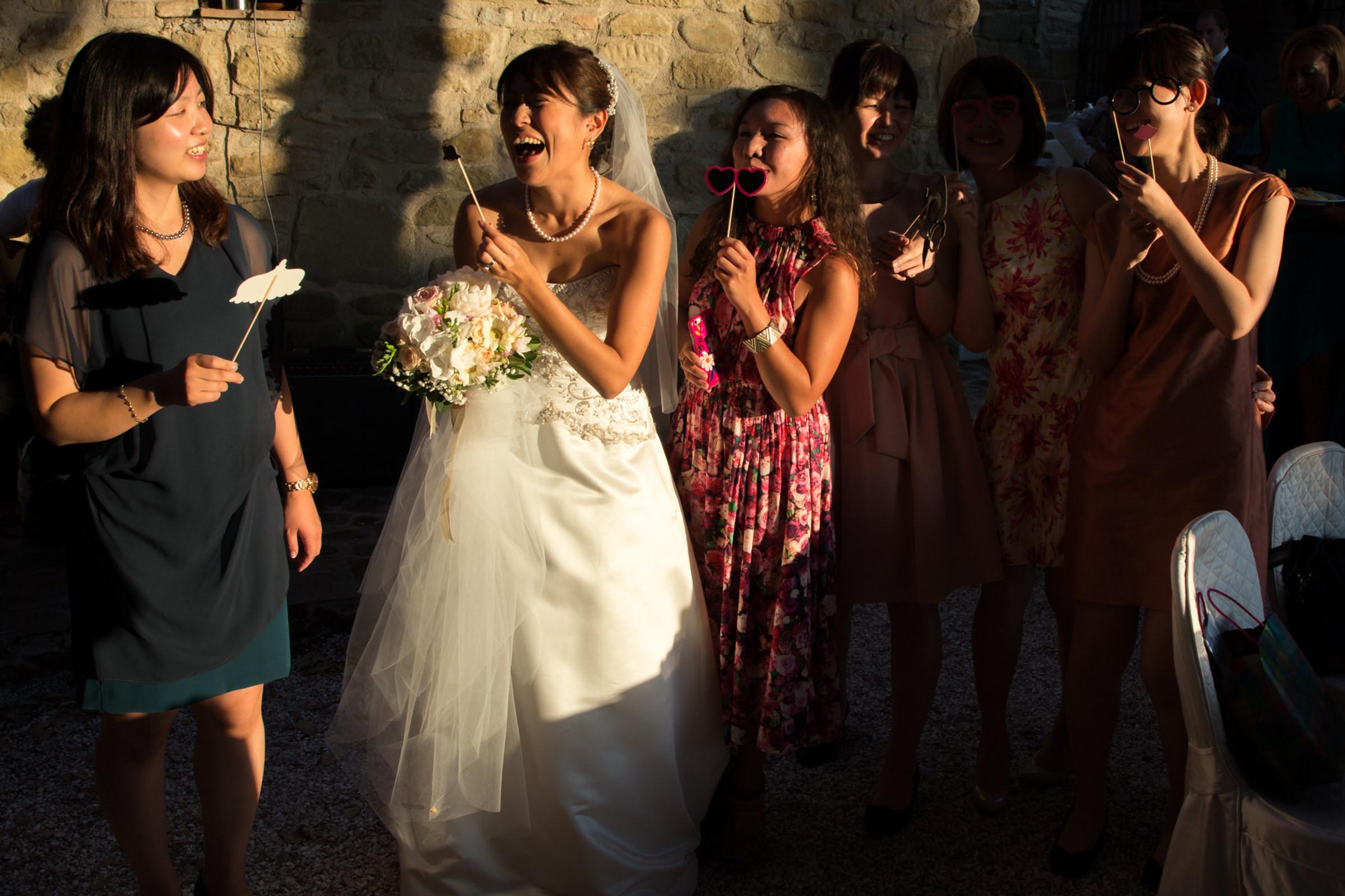 wedding bride having fun.jpg