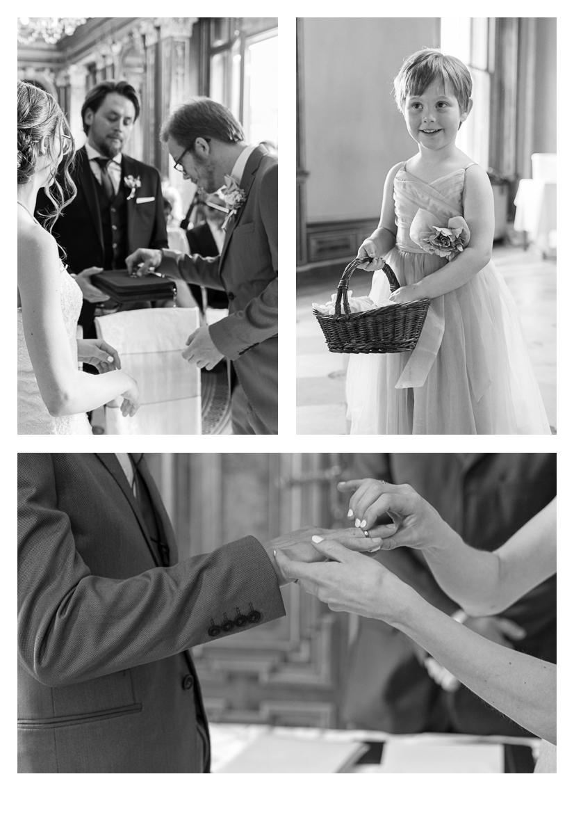 Schloss Hernstein Wedding rings exchange