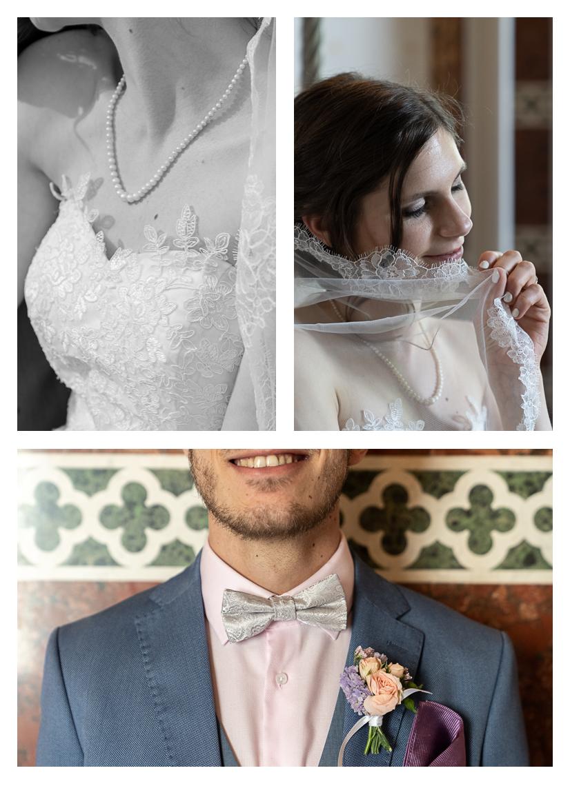 Schloss Hernstein Wedding Bride and Groom