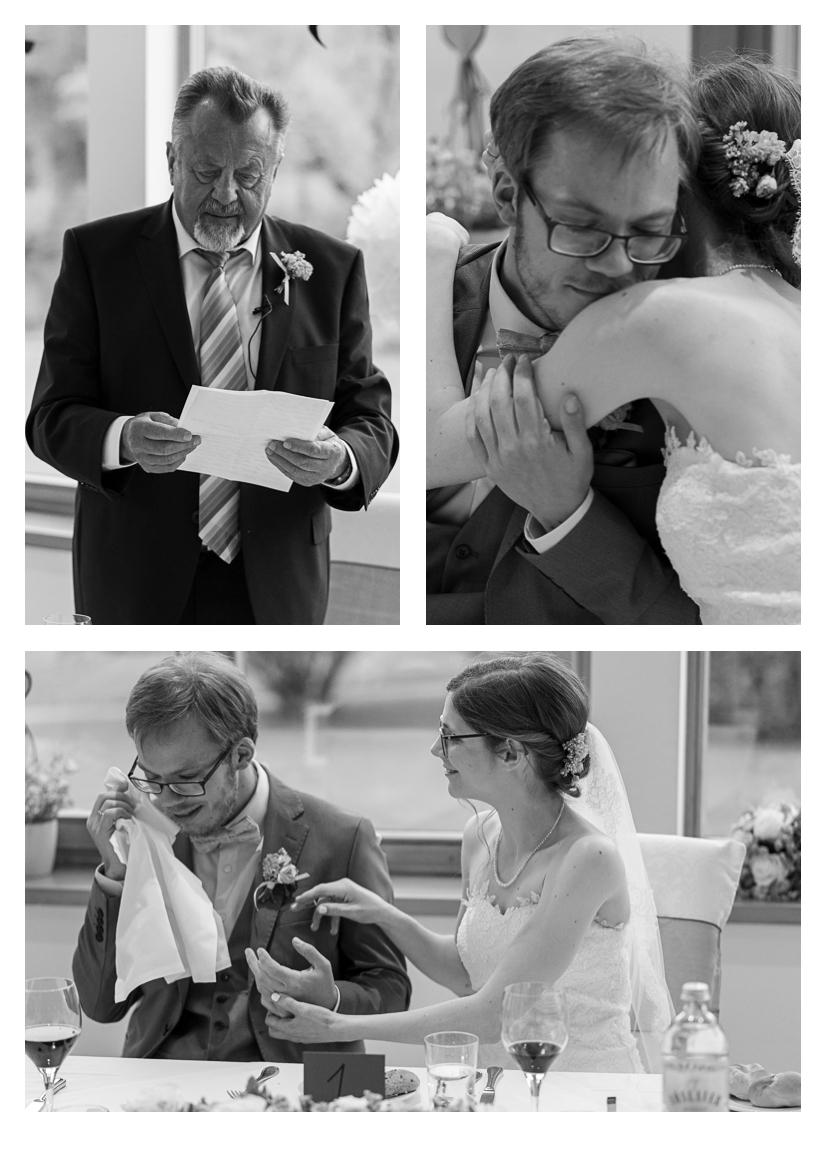 Schloss Hernstein Wedding reception emotional moments