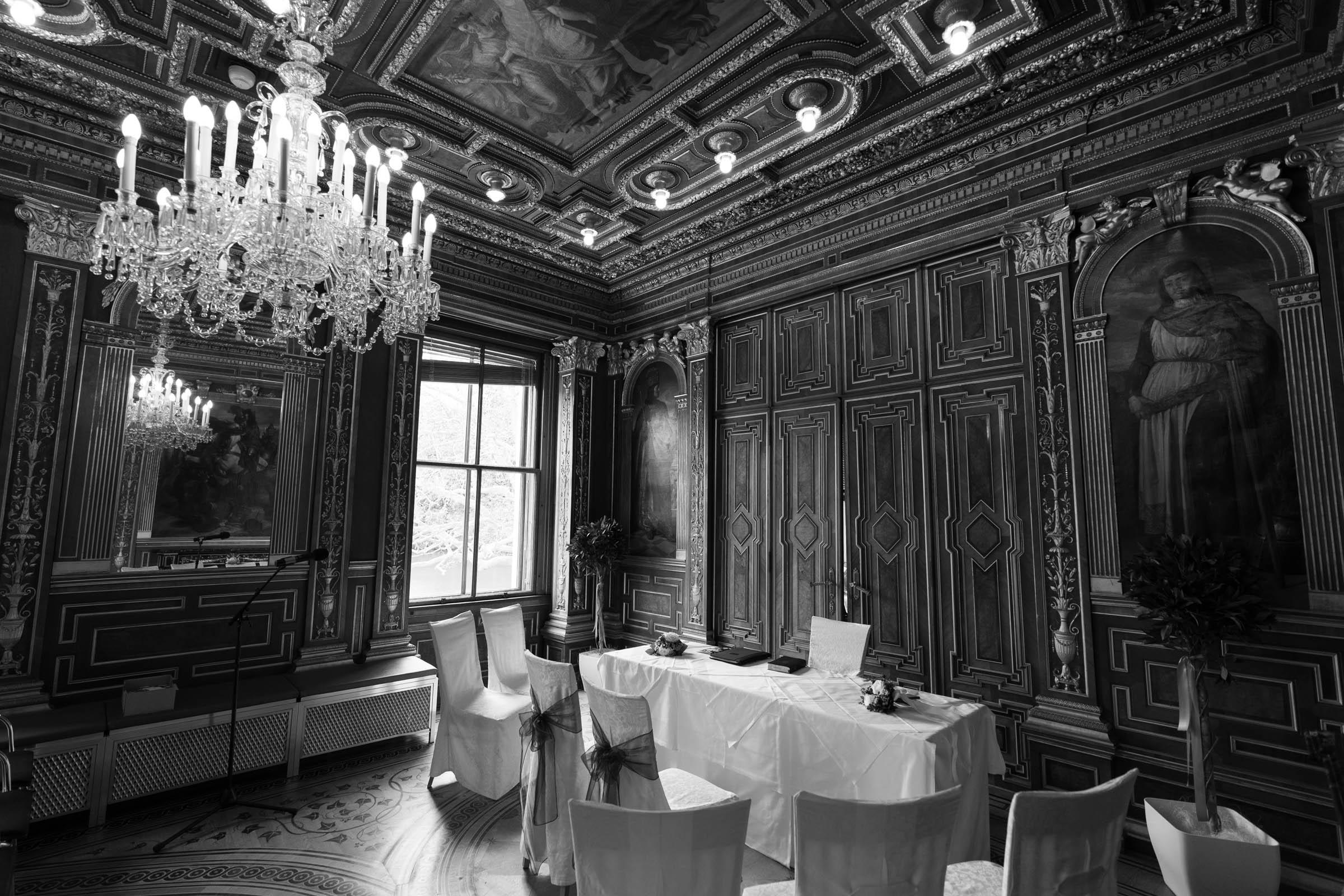 Schloss Hernstein Wedding hall