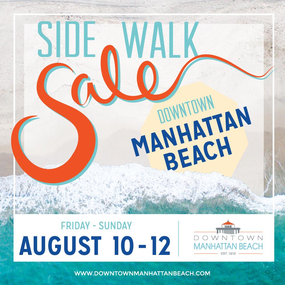 August Sidewalk Sale