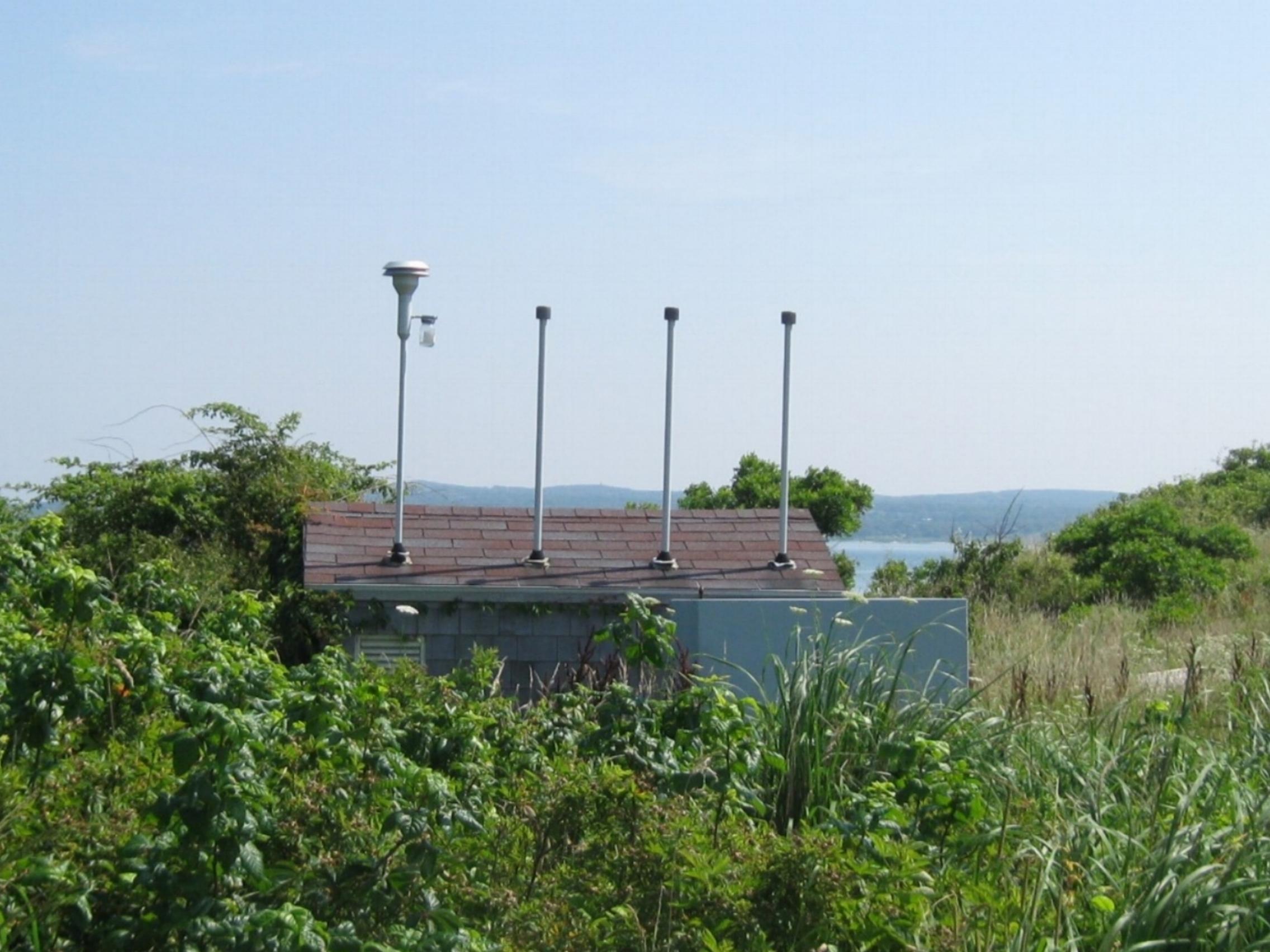 Air Monitor Housing/Sampling Site