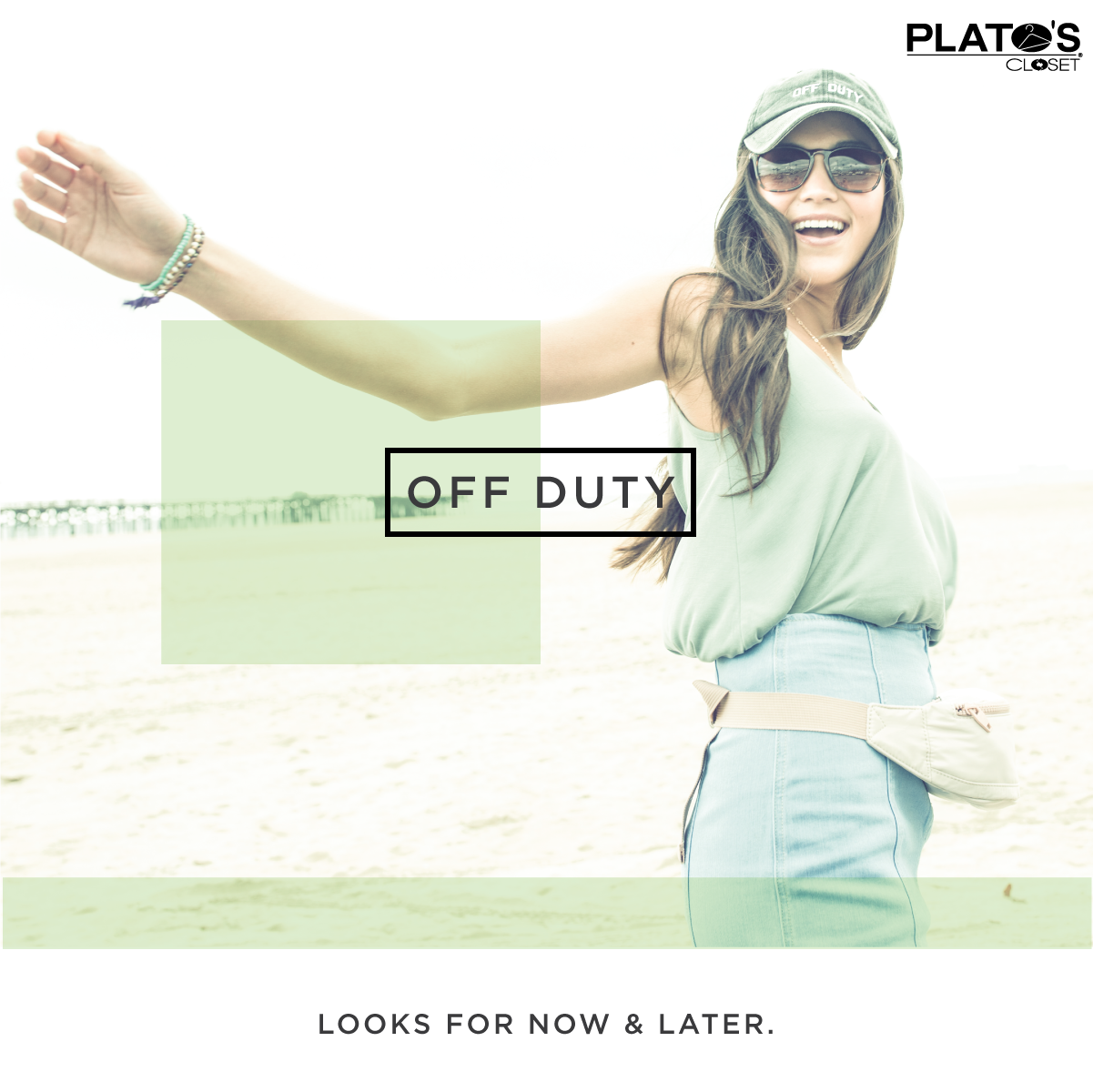 School's out and that means you can wear your off duty look around the clock! Find your next #OOTD during a visit to Plato's Closet and save even more with our everyday low prices.