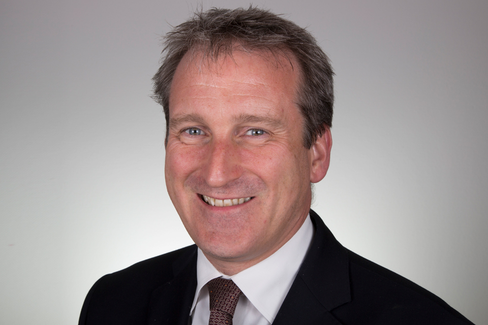 Damian Hinds, former Secretary of State for Education