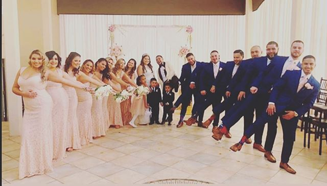 Nothing like an amazing bridal party to make your day even more special! . . . #theelan #theelannj #njwedding #njweddings #njvenue #njvenues #bridalparty #njcatering