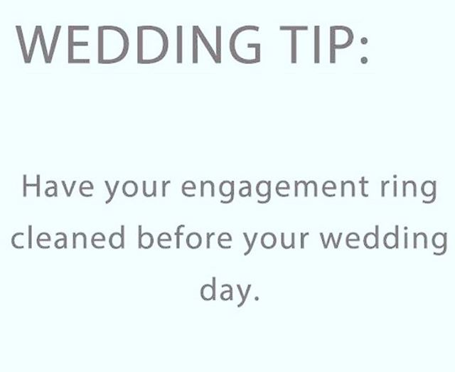 Make sure your ring is shining bright on your wedding day 💍✨ . . . #theelan #theelannj #njwedding #njweddings #weddingtiptuesday #weddingtips #weddingtipsandtricks #bridetips #weddingdaytips #njvenue #njvenues