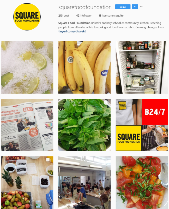 - The Square Food Foundation is a project in Bristol, led by chef Barny Haughton, doing a great and important job in food education.