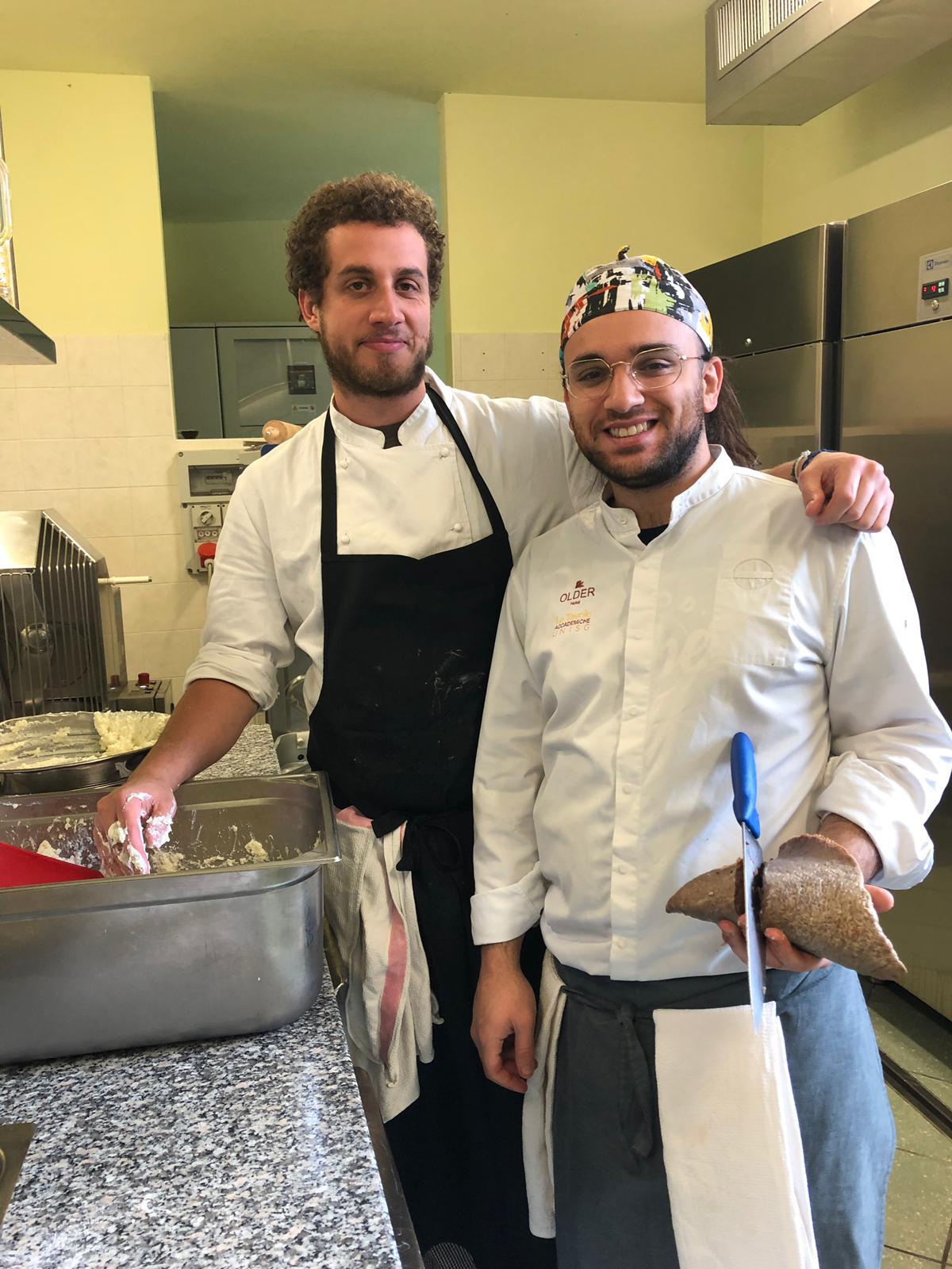 Antonio (left) and Valerio (right)