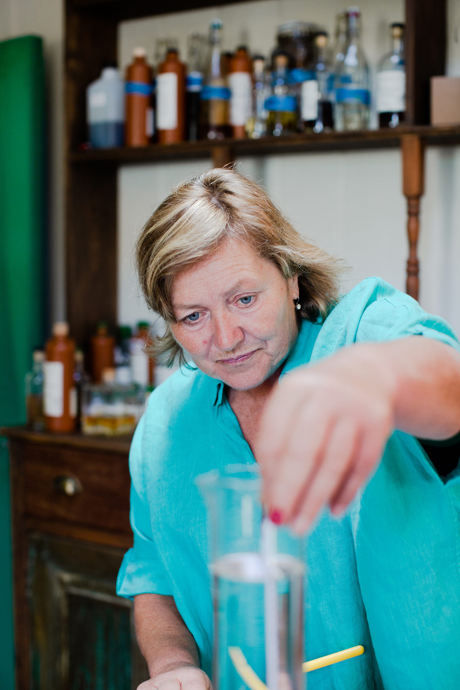 Master mixologist Sue Mullett is the owner of Bath Botanical Gin Distillery