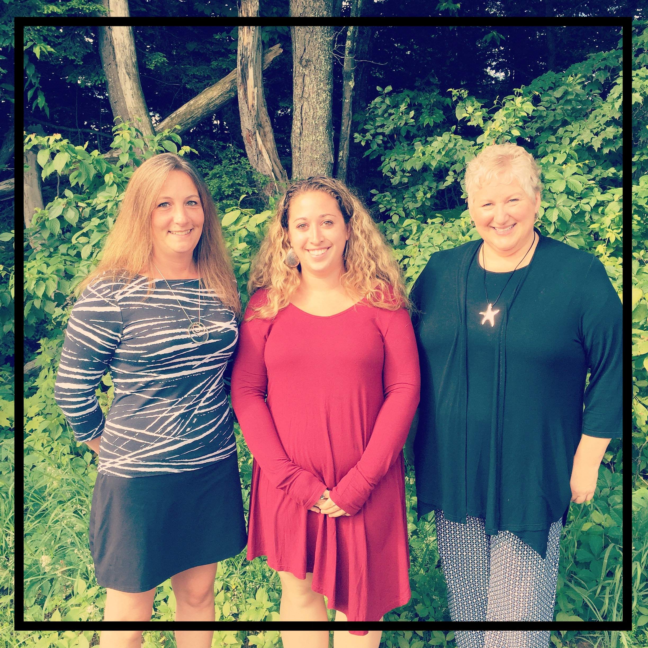 (Left to Right: Michelle French, Chelsea Miller, Andrea Mayo)