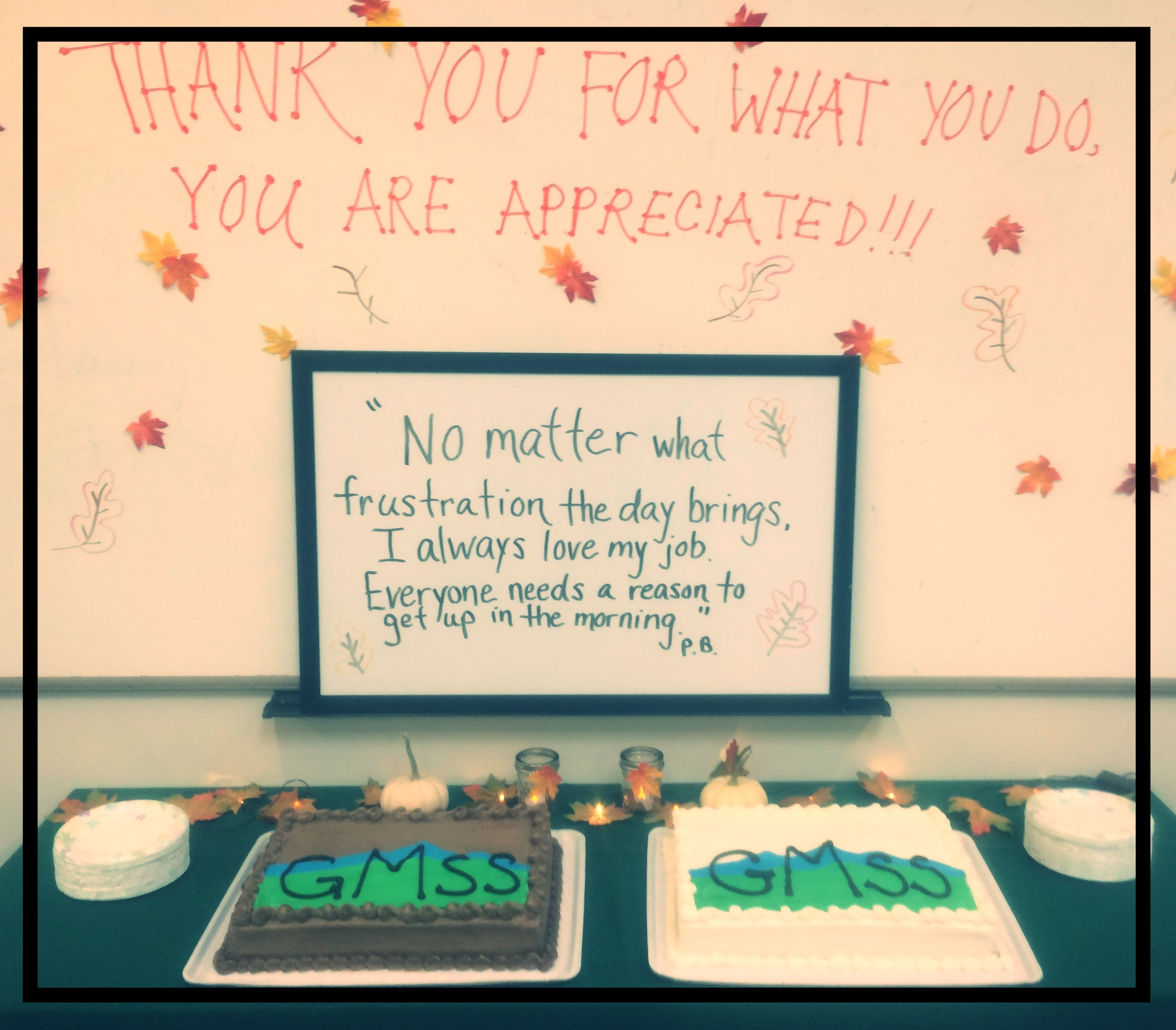 """Thank You For What You Do. You Are Appreciated!"""