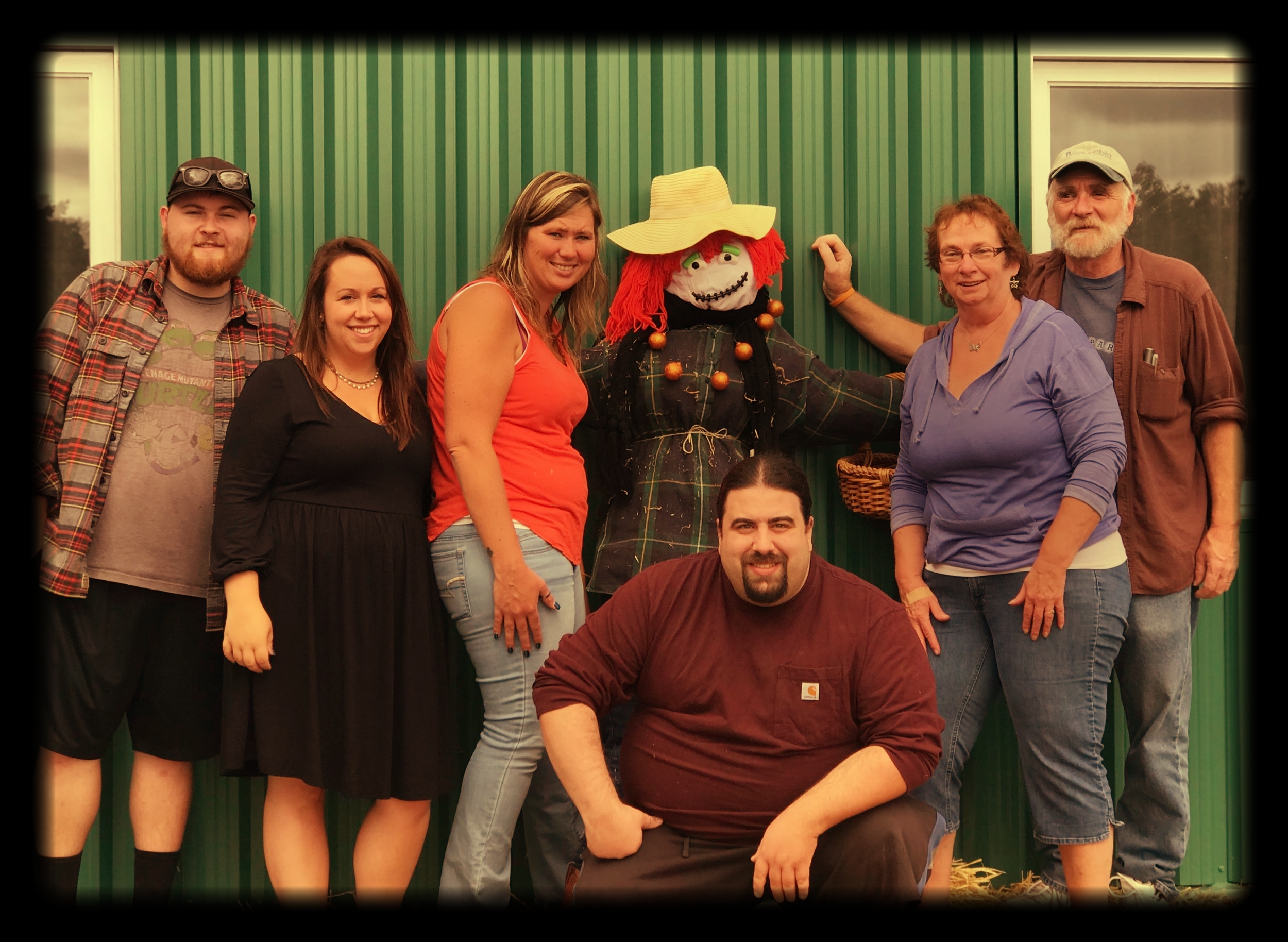 Scarecrow Team Building!
