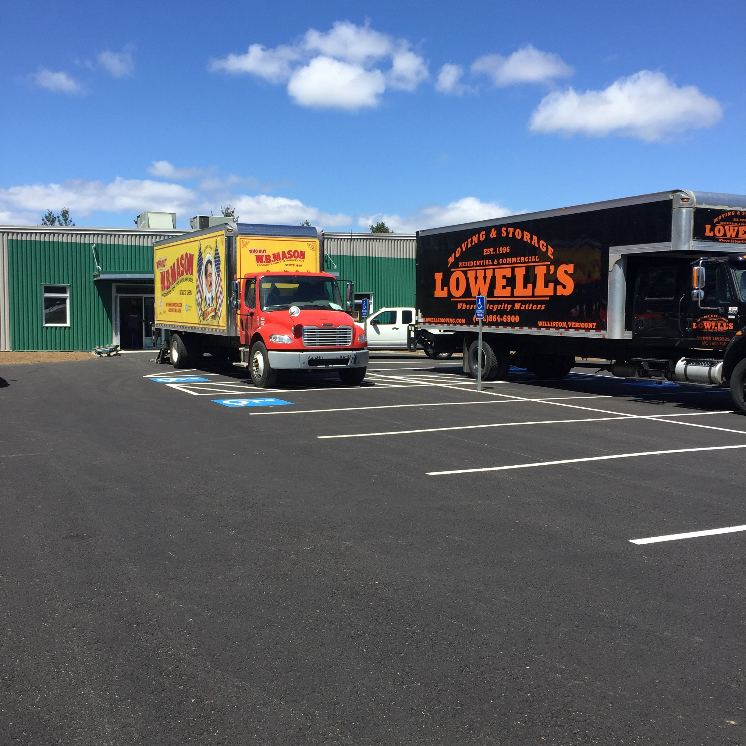 May 11th was a big day for us. After 20 years at our previous address, we moved to our new location at 93 James Road in Morrisville.