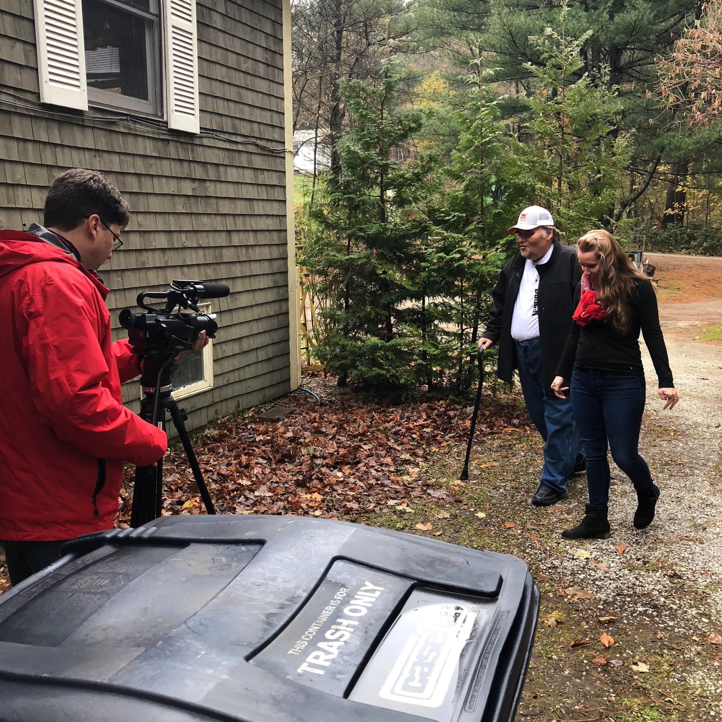 In early November, we worked with  mychamplainvalley.com  to film a commercial promoting the hard work of our Shared Living Providers.