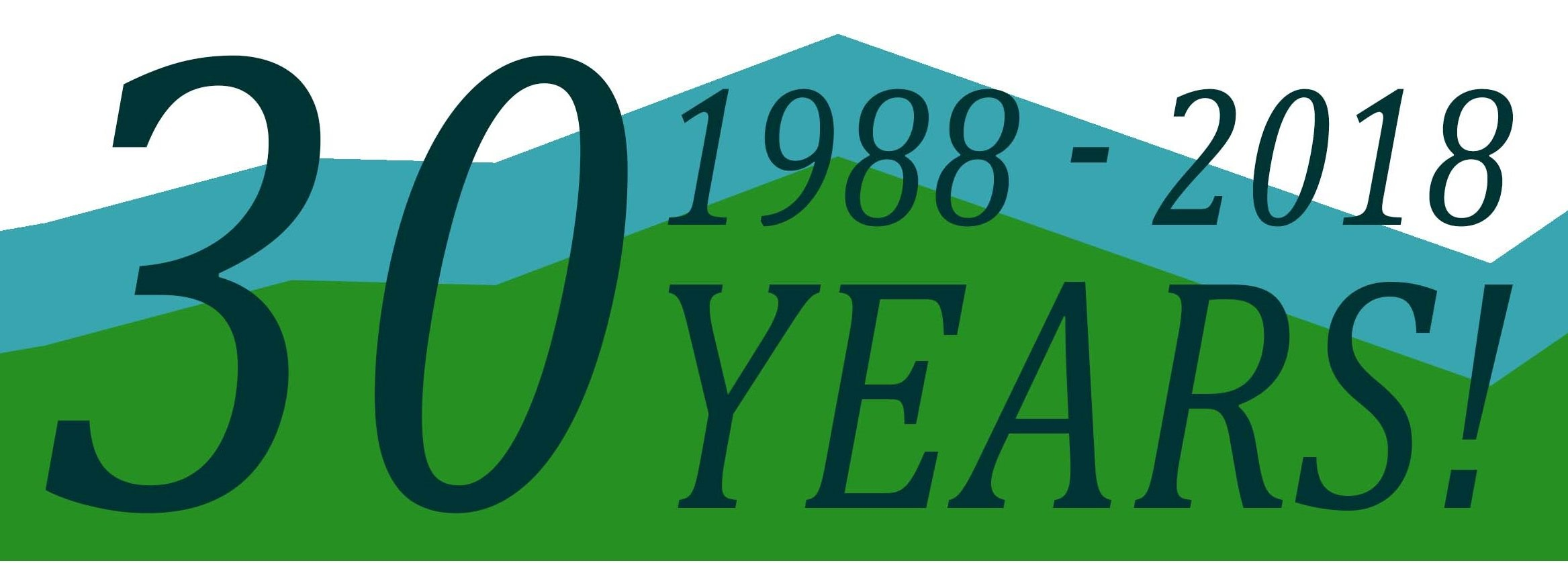 At the very start of 2018, we were proud to announce this year marked our 30 year anniversary!