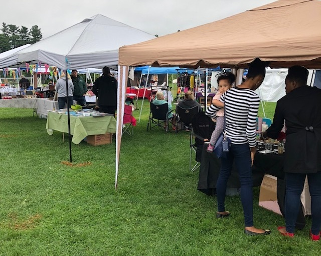 The GMSS Outdoor Bazaar is quickly becoming a Northern Vermont Tradition, where people from all over the region attend.