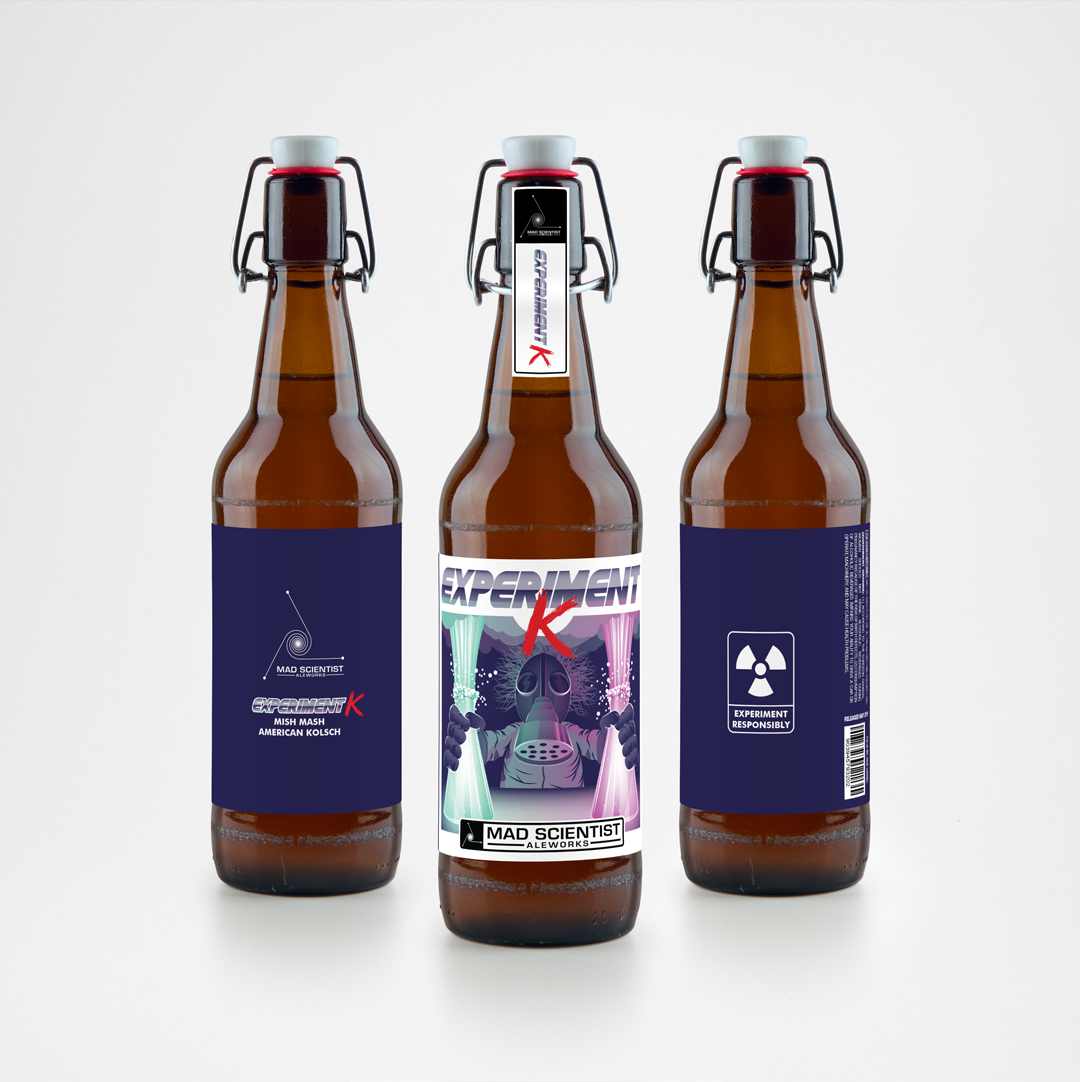 Mad Scientist aleworks - brand strategy, Identity design, and packaging