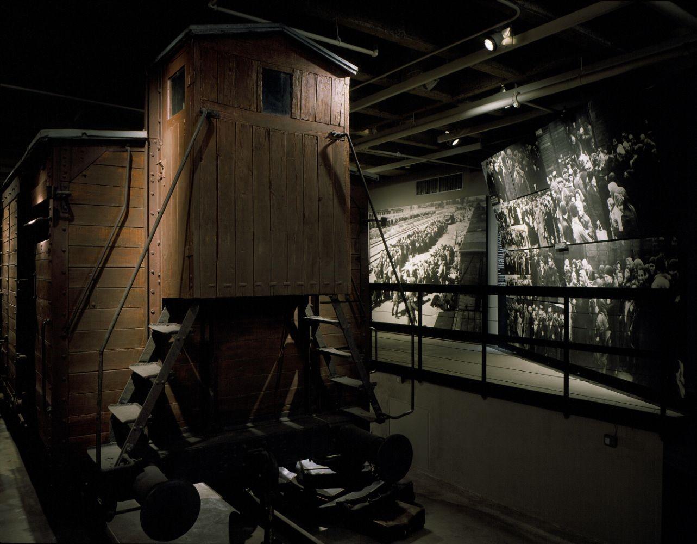 Holocaust Museum Exhibit Space