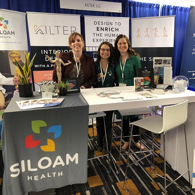 Come see us at booth 42 at Planetree! #siloamhealth