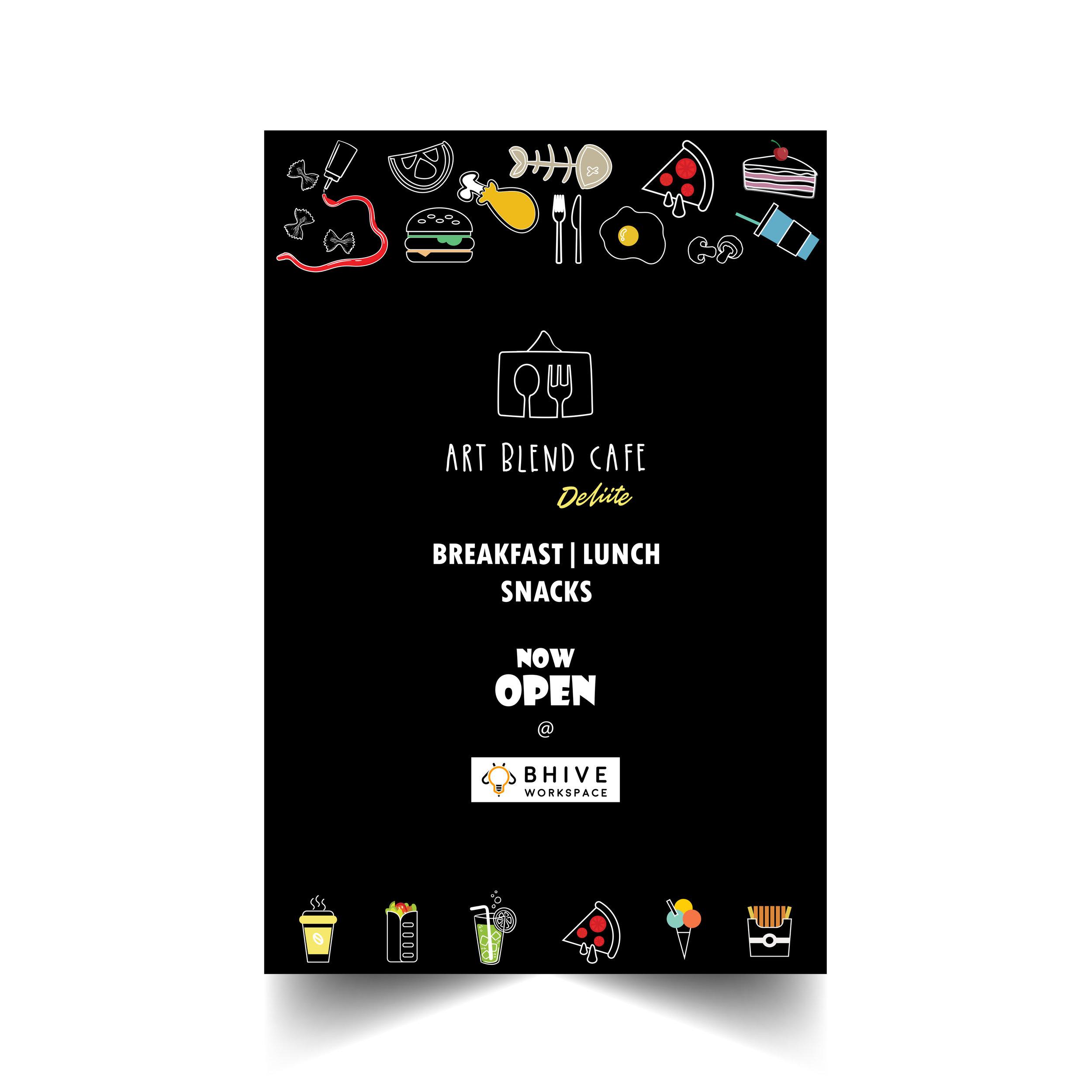 Art Blend Cafe Deliite Poster Design.jpg