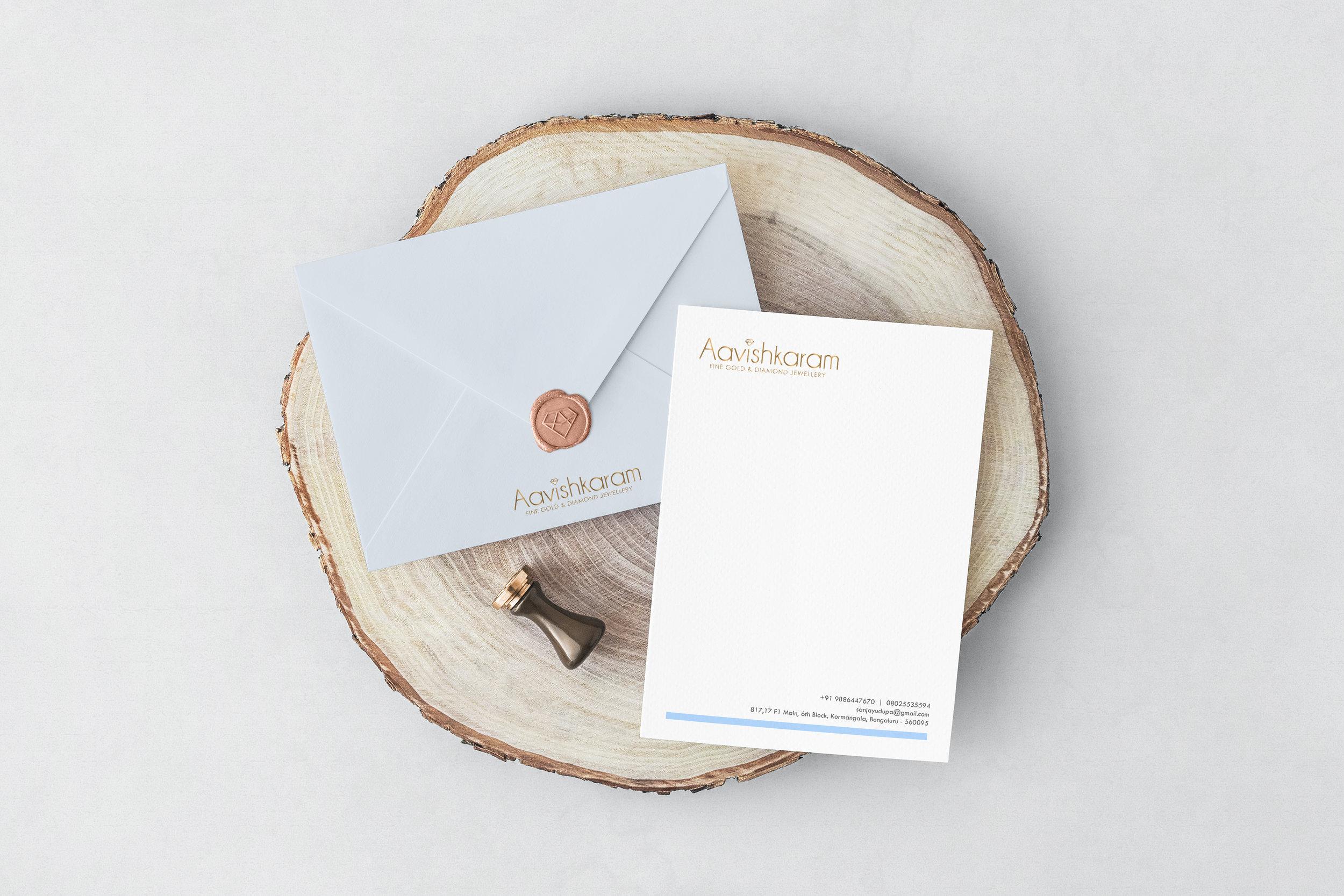 Envelope & Letterhead Design