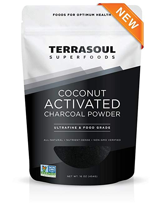 Terrasoul Superfoods Coconut Activated Charcoal