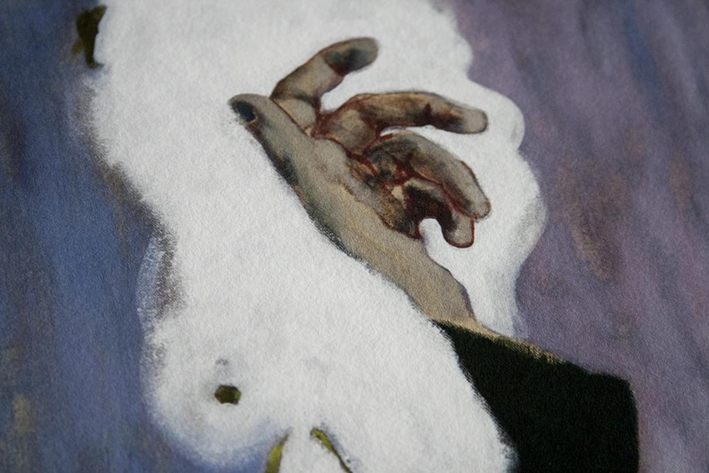 HOPLA ! LA MORT DE ROBERT WALSER - 2016 (détail de l'impression)