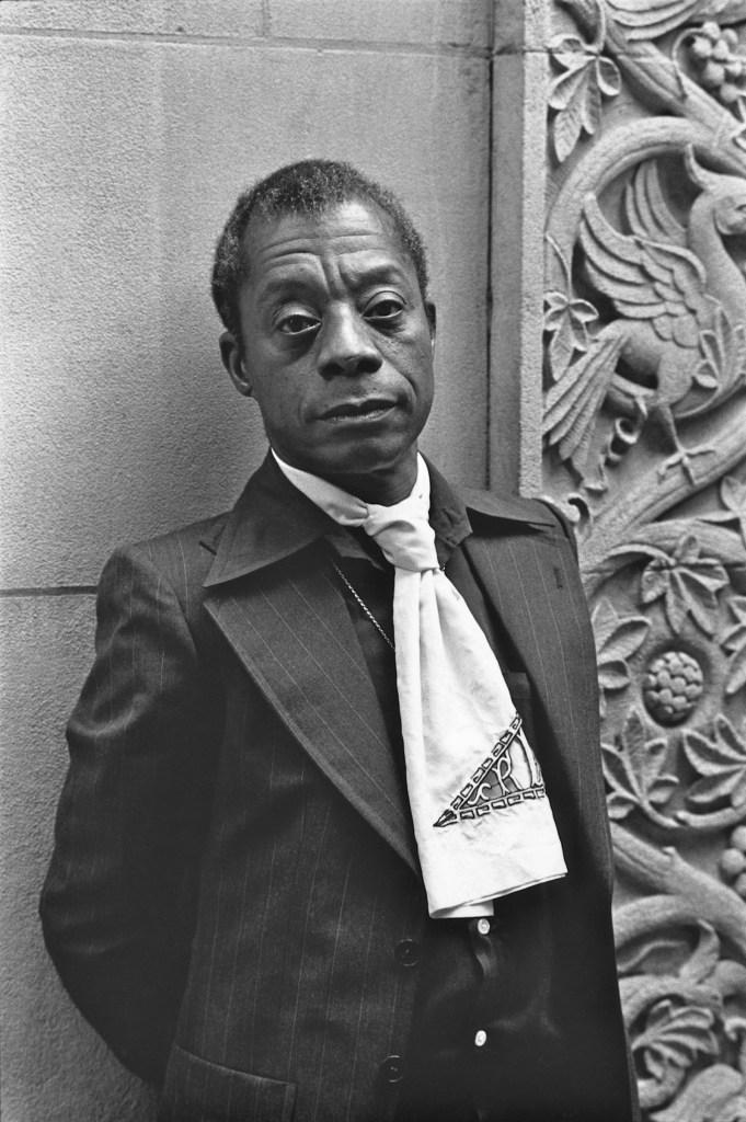 James Baldwin, New York City, 1976; photograph by Nancy Crampton