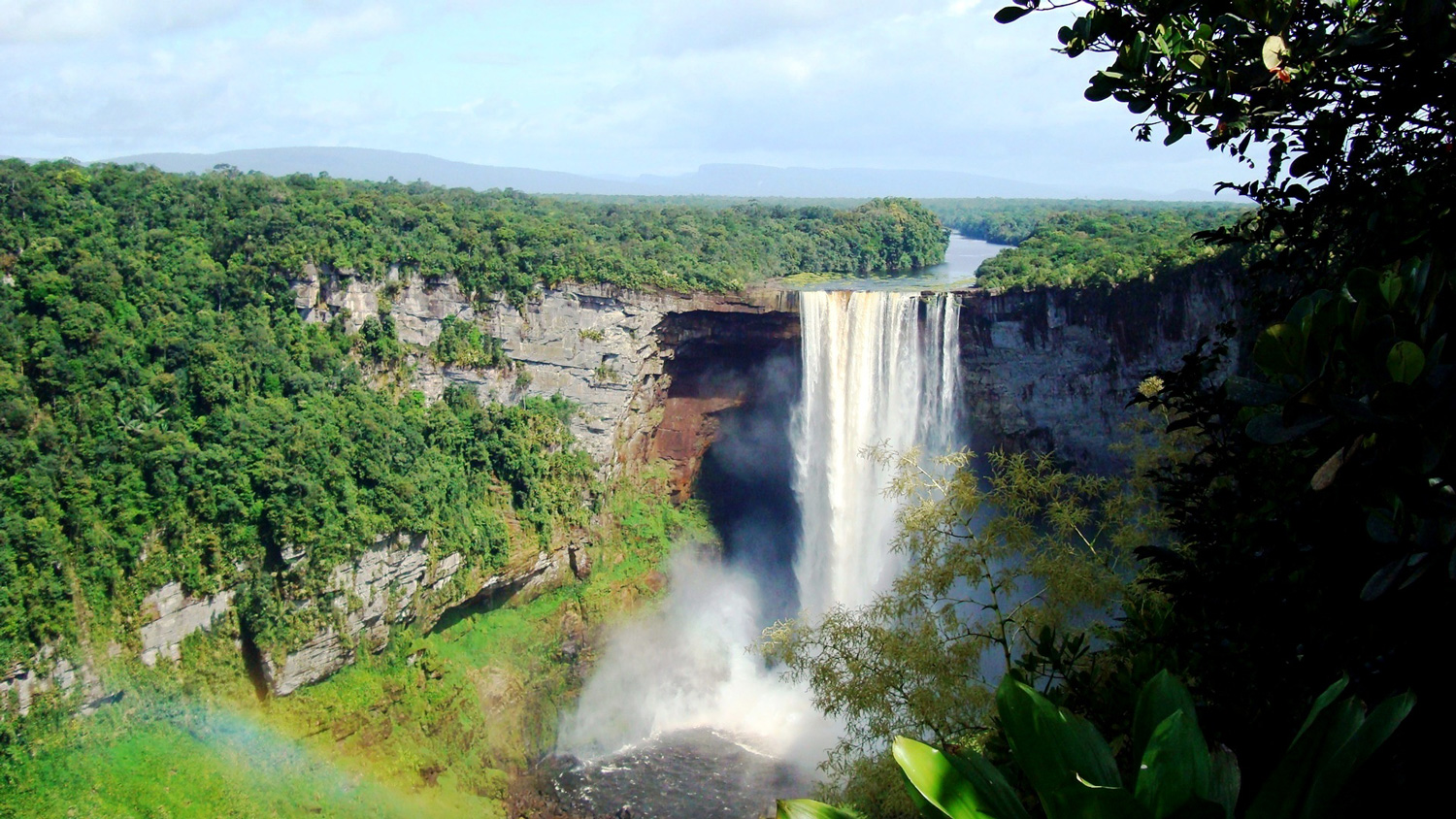 Kaieteur Falls, Guyana. Courtesy Defense Institute for Medical Operations