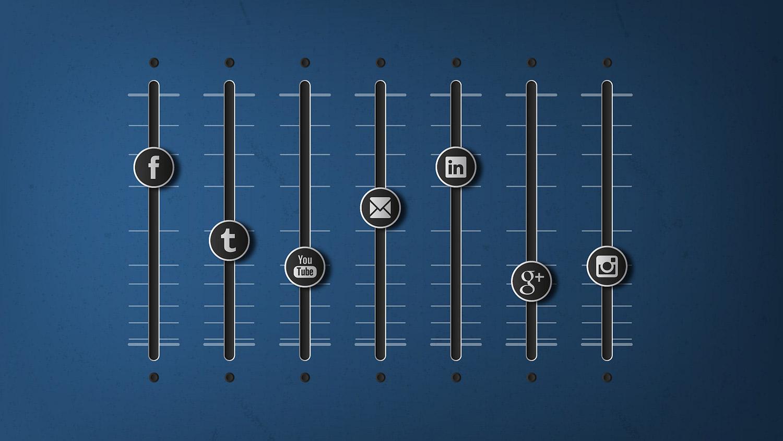 The Social Media Marketing Mix - Youtube, Facebook, Twitter, Linkedin, Instagram, Email. Courtesy  Alan O'Rourke