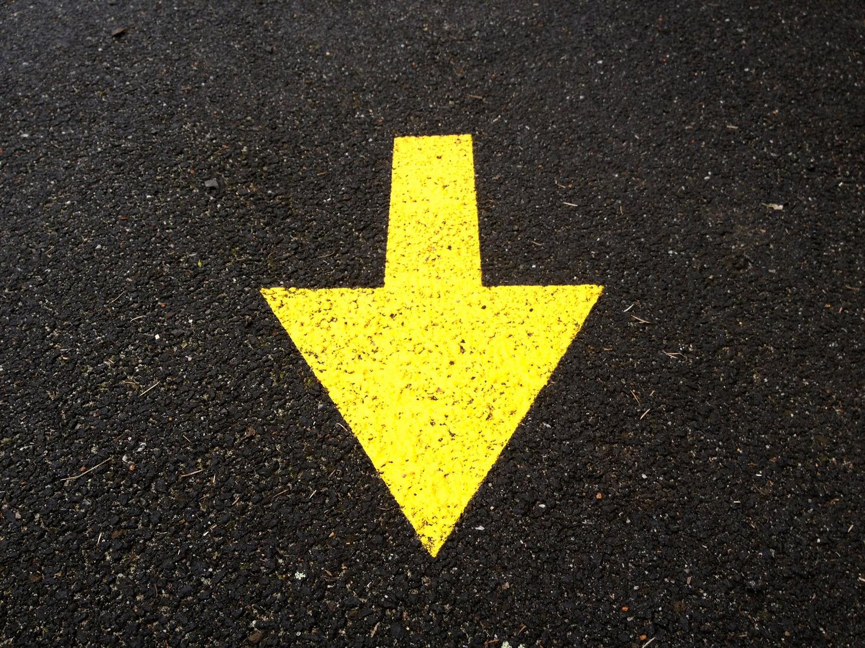 Direction Arrow. Courtesy Karim D. Ghantous