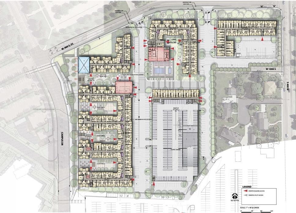 Proposed Palos Verdes Site Plan