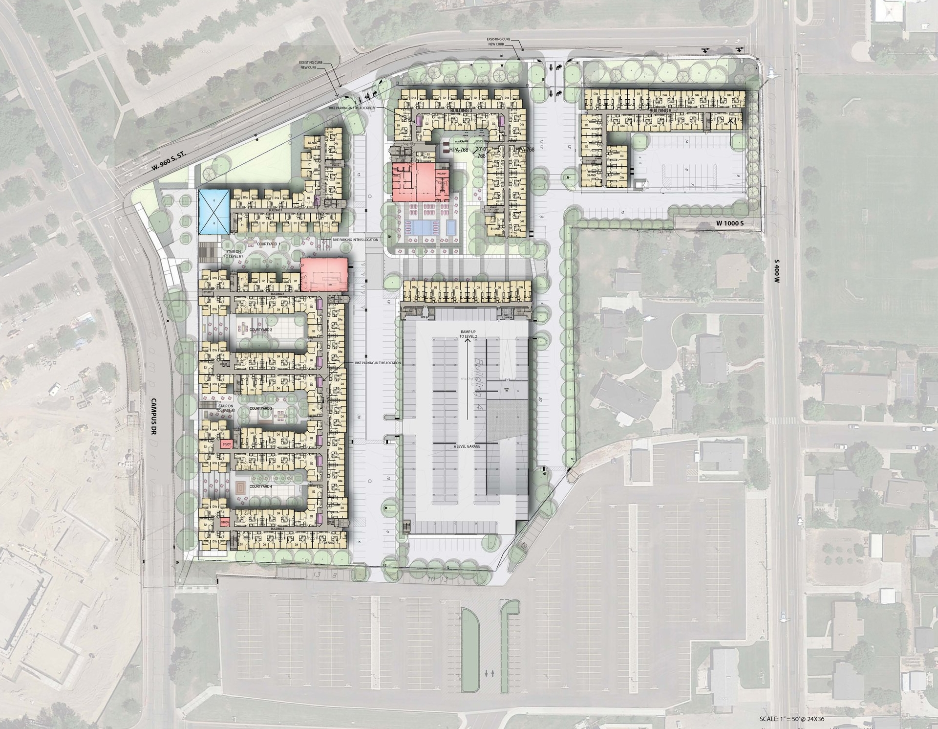 more parking than any other project in Utah county -