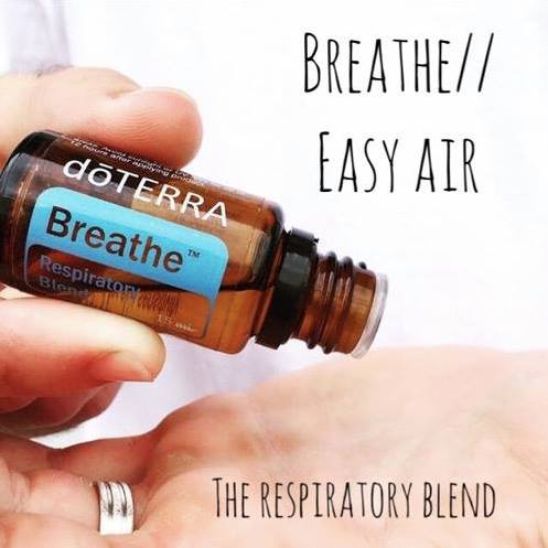 Dive in to Breathe- Respritory blend oil