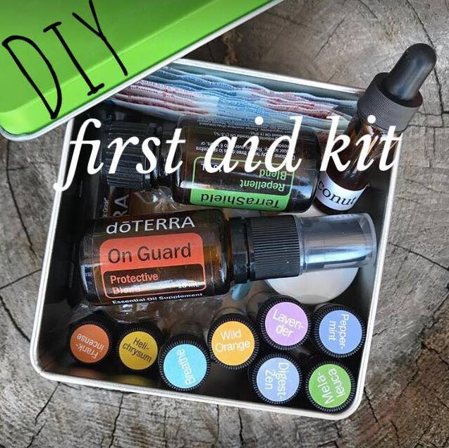 Dive in to this DIY first aid kit