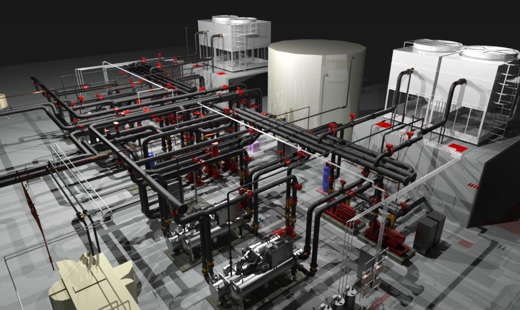 Virtual Construction rendering