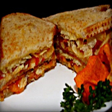 Dad's Hearty Bacon Bonanza Grilled Cheese Sandwich