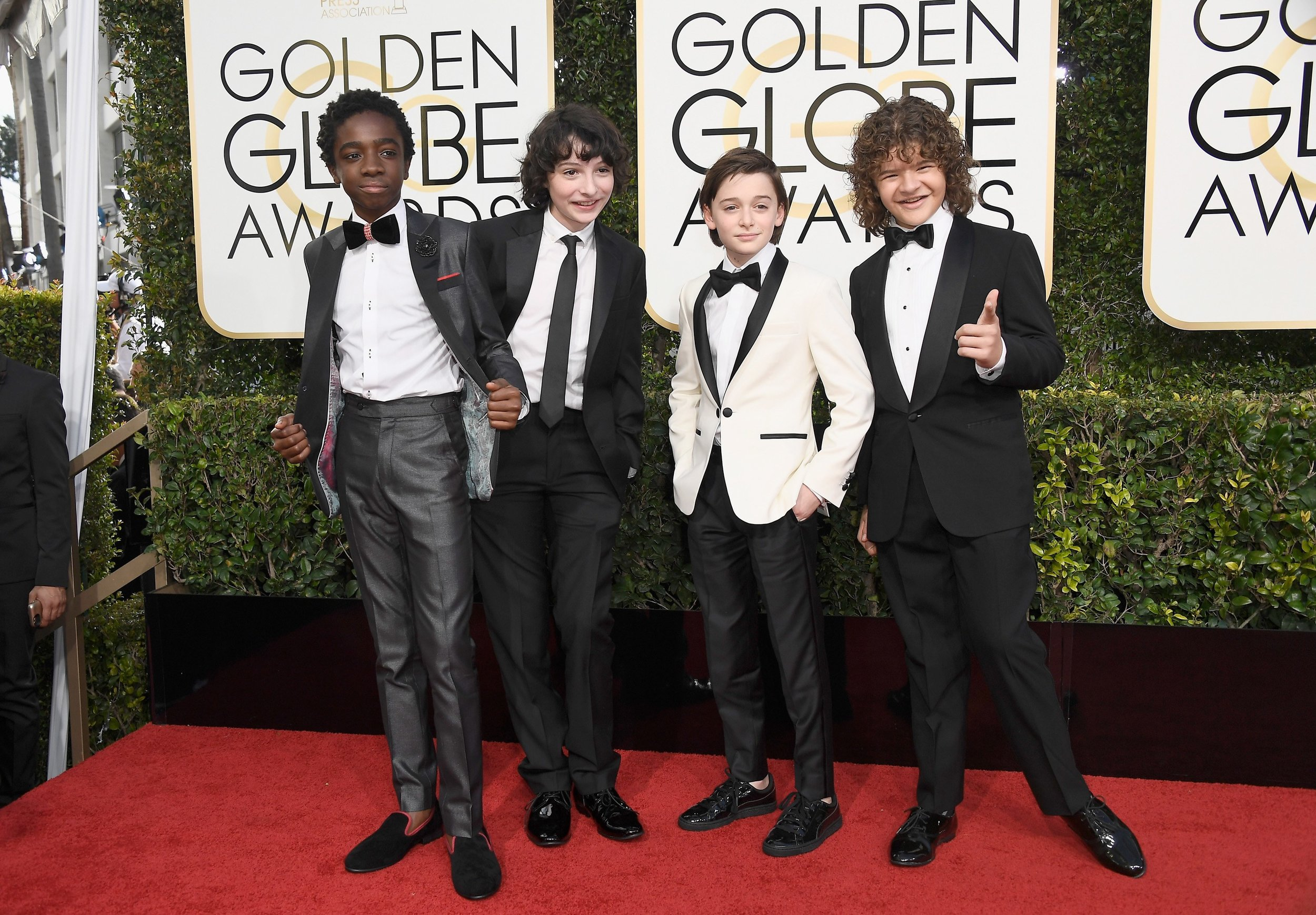 2017 Golden Globes Red Carpet with E! Entertainment