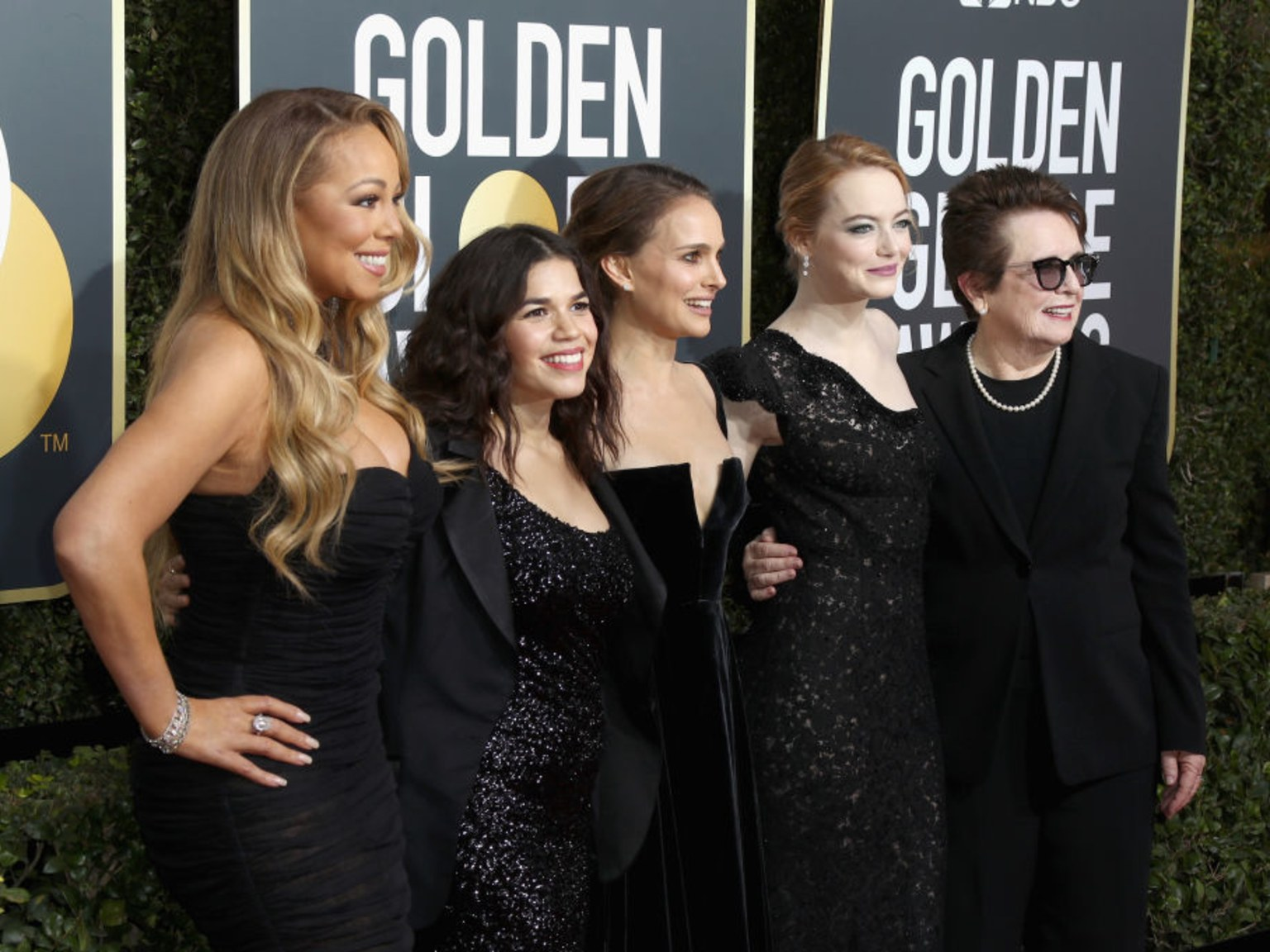 2018 Golden Globes Red Carpet with E! Entertainment