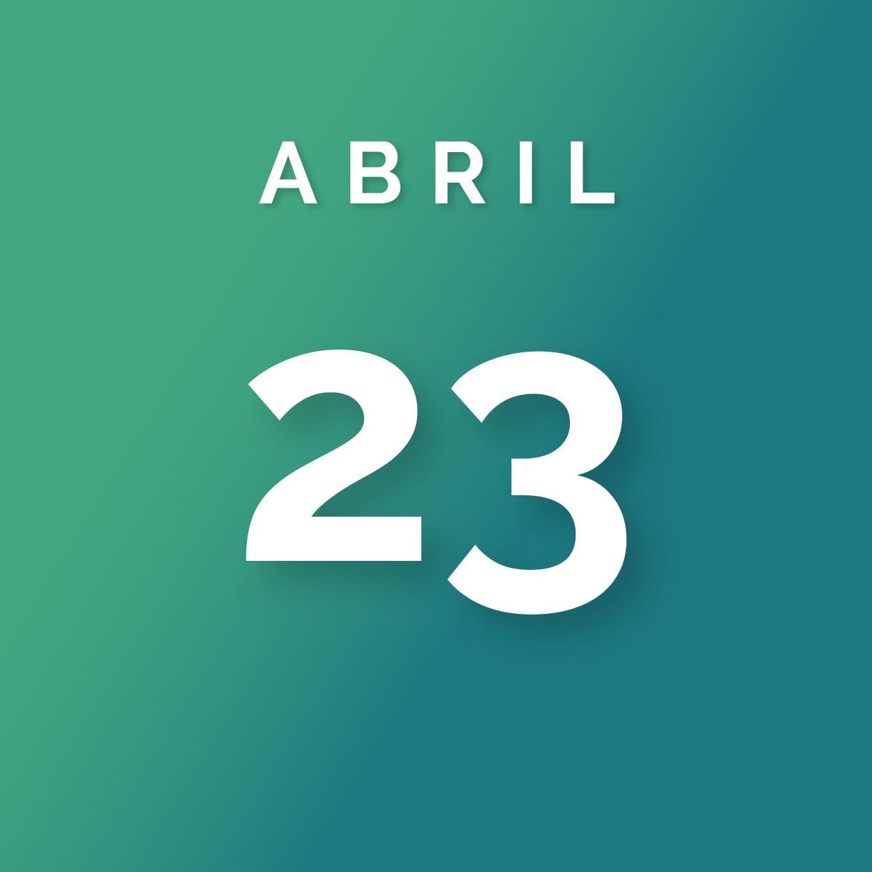 Encerramento do prazo para envio das propostas - Sexta-feira, 23 de Abril, 2018às 23;59