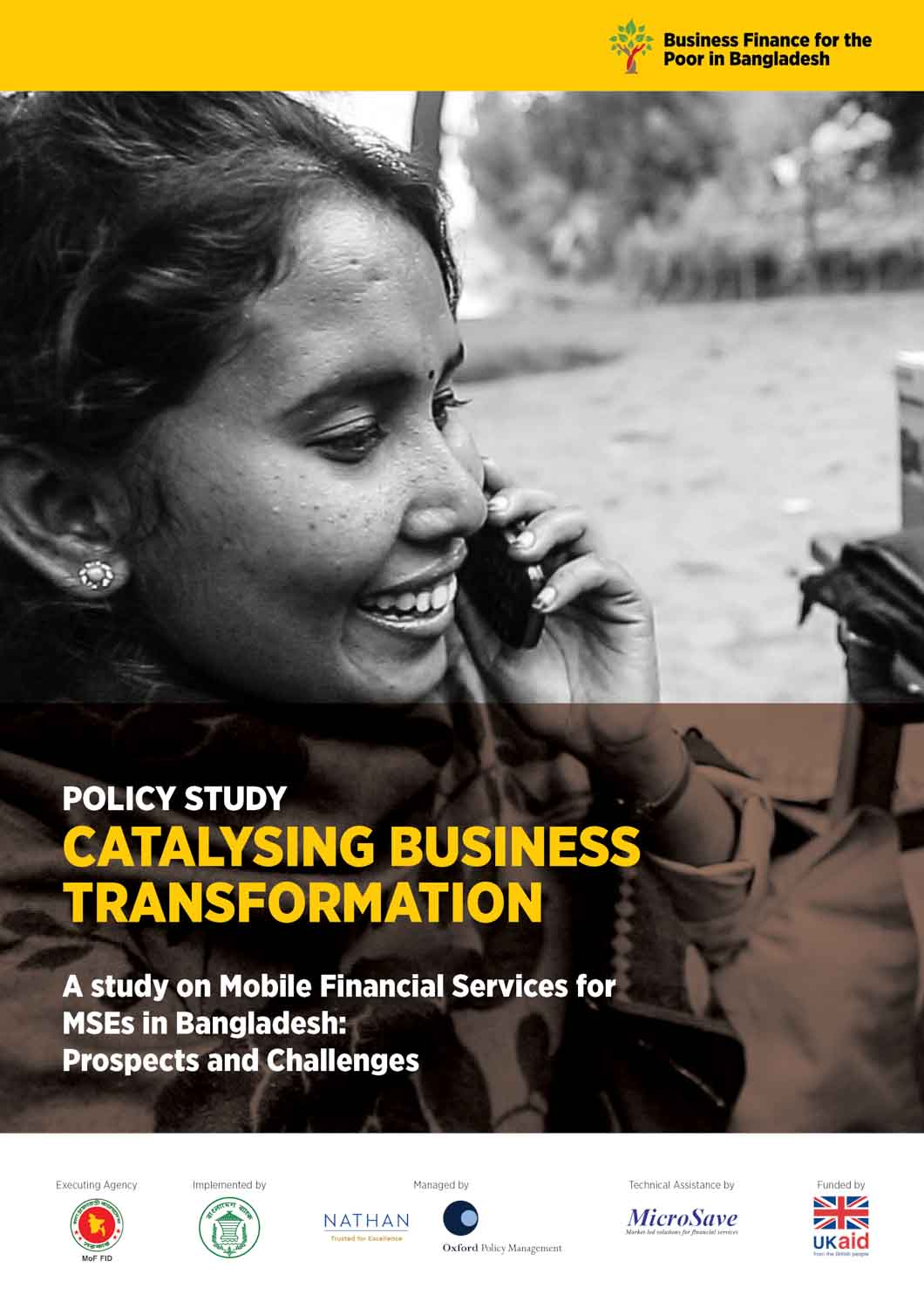 BFP-B policy study mobile financial services