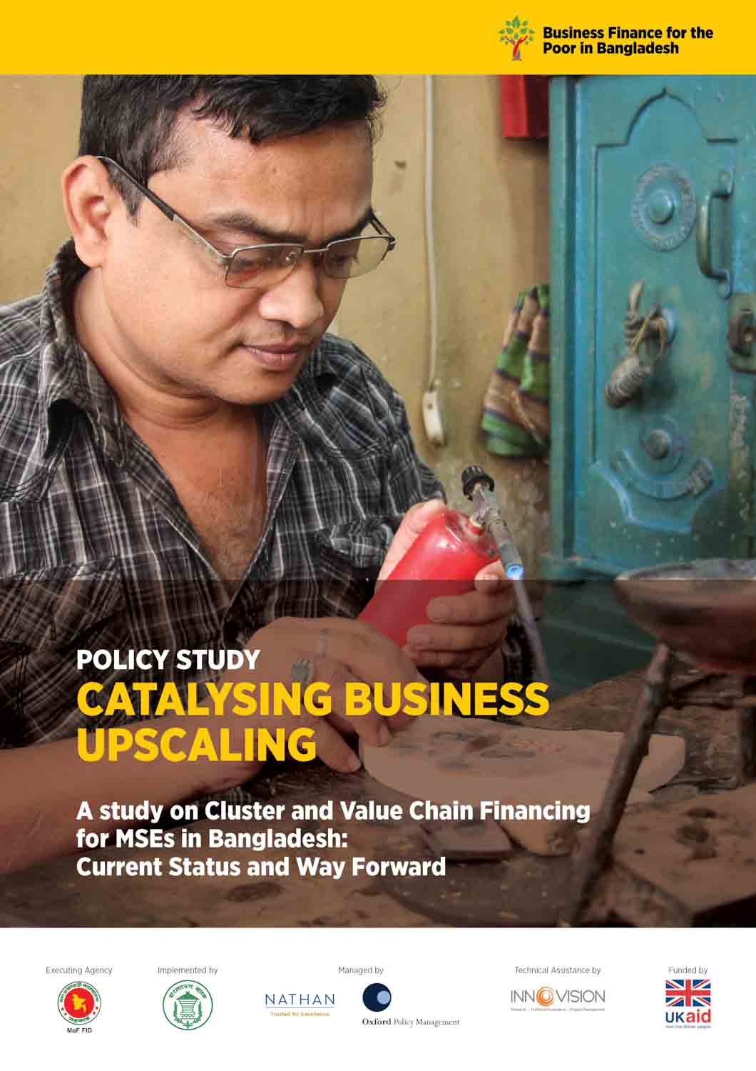 BFP-B policy study cluster and value chain financing