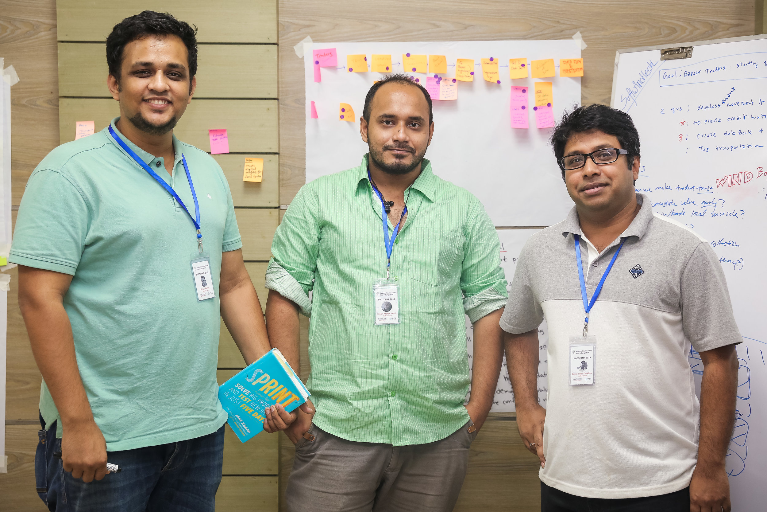 """Wind Bazaar - """"Wind Bazaar aims to record transactions that take place in the local markets, colloquially known as haats in Bangladesh. While creating the prototype, we got insight into some problems which we had not considered earlier. With the sprint process though, we were also able to easily draw a solution."""""""