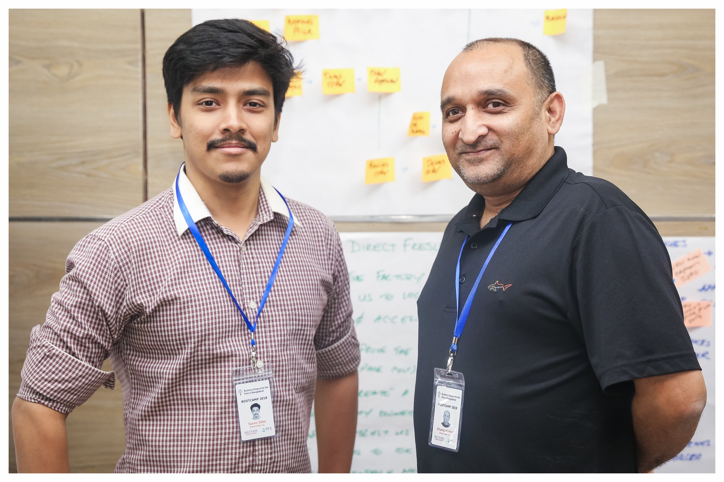 """Direct Fresh - """"The goal of our project is to cater to the basic commodity needs of workers of all factories. For now, we are providing them with basic food. We hope to expand in the future. The Bootcamp and entire sprint process has helped us clarify our vision in terms of the perfect strategy or roadmap for implementing the solution we came up with."""""""