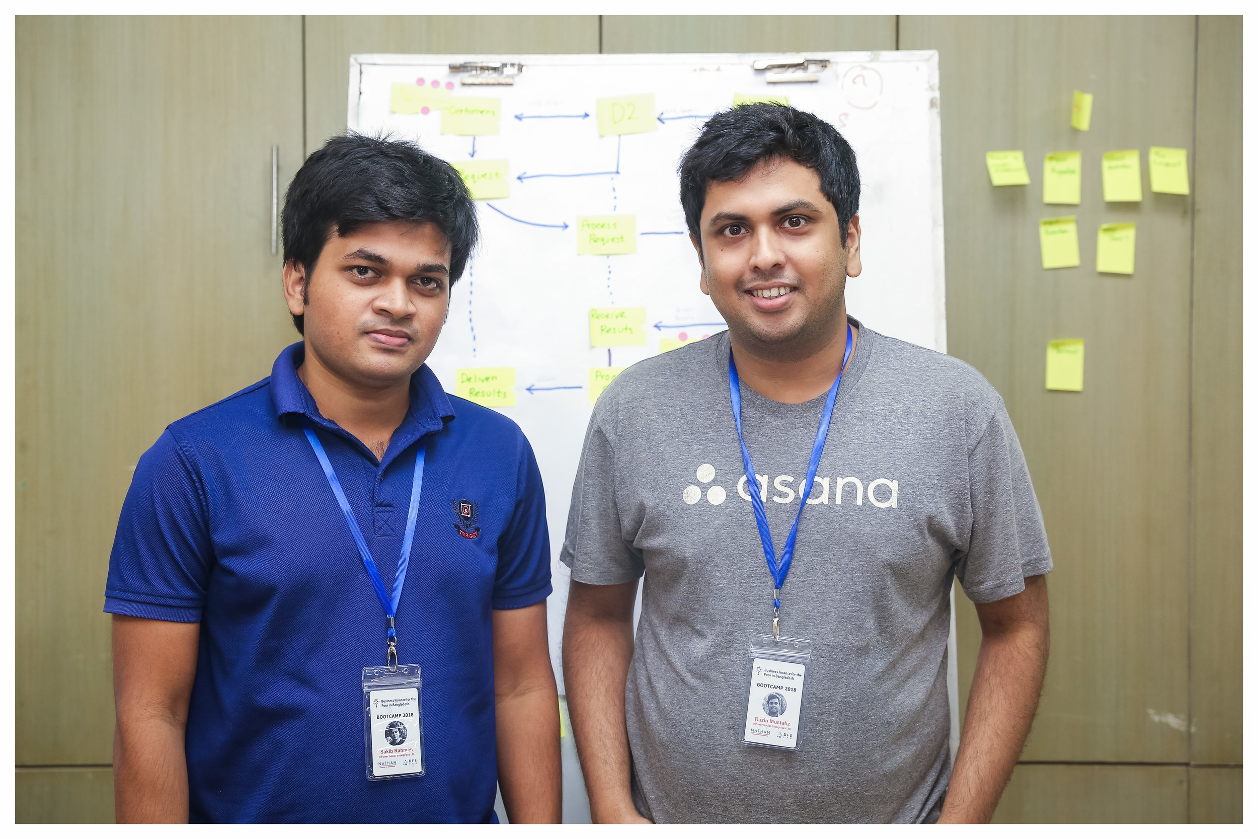 """D2 - """"The Bootcamp was very intense and we learned a lot. D2 strives to connect businesses looking for reliable market data with a network of agents around the country who get paid to collect that data. These agents are mostly unemployed youth from low-income backgrounds. We hope we can take the learnings from the sprint process, identify quick solutions and implement them for creating better opportunity for the youth."""""""