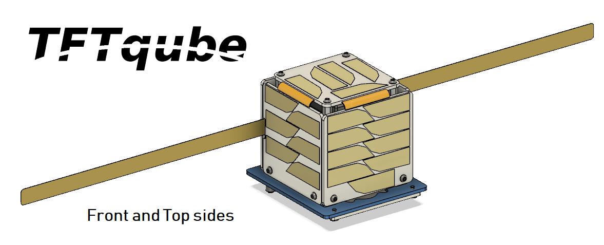 TFTqube - 1p pocketqube amateur satellite