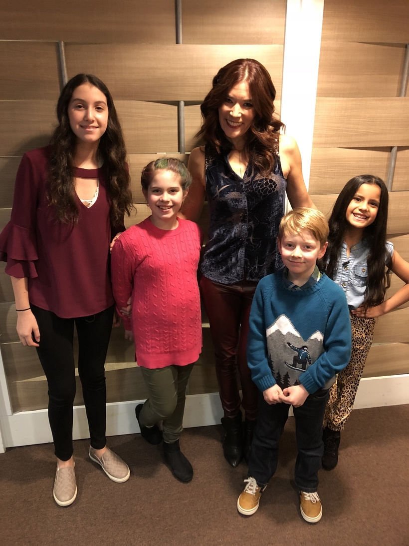 First-ever Rachael Ray Show Kids test out the Human Lab products!